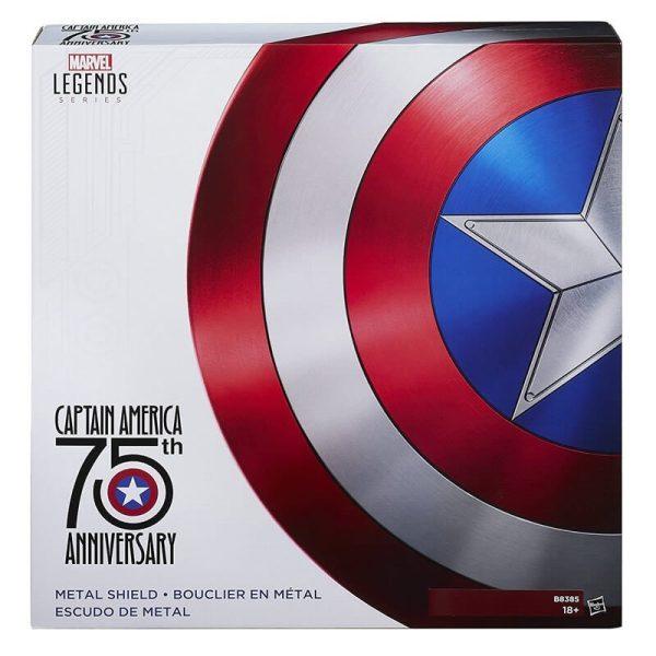 Captain America Metal Shield Life Size Replica Box