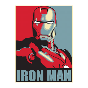 Iron Man 2 Retro Poster