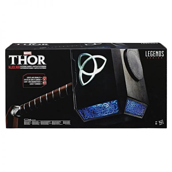 Marvel Thor Mjolnir Electronic Hammer Box