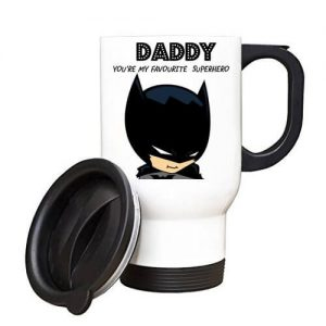 Batman Daddy You're My Favourite Superhero Travel Mug