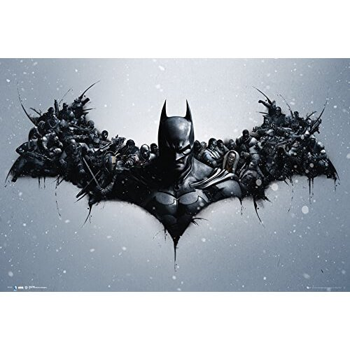 Batman Origins Arkham Bats Maxi Poster