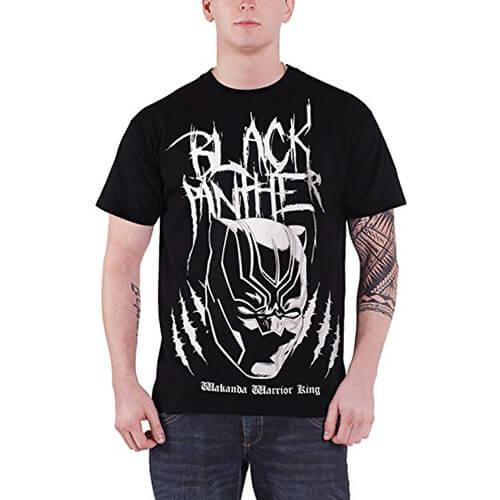 Black Panther Wakanda Warrior King T-Shirt