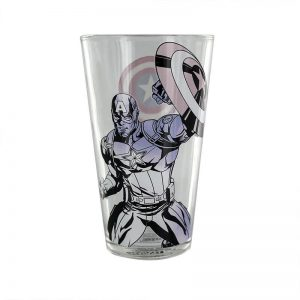 Captain America Colour Changing Glass