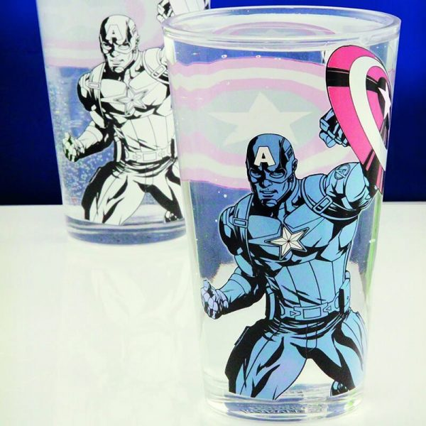 Captain America Colour Changing Glass2