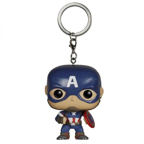 Captain America POP! Key Chain