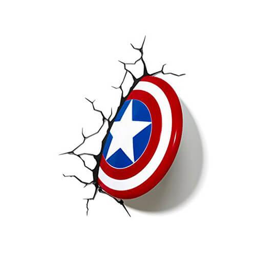 Captain America's Shield 3D LED Light