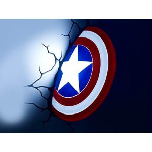 Captain America's Shield 3D LED Light1