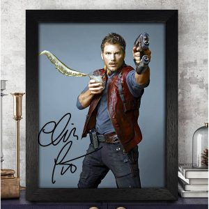 Chris Pratt Autographed Signed Photo