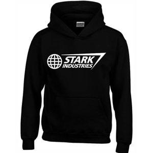 Classic Stark Industries Hoodie Black
