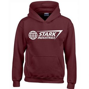 Classic Stark Industries Hoodie Brown
