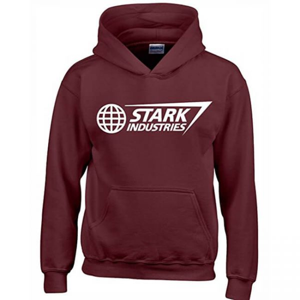 Classic Stark Industries Hoodie Brown