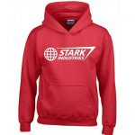 Classic Stark Industries Hoodie Red