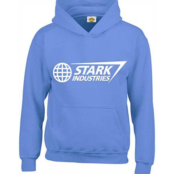 Classic Stark Industries Hoodie Blue
