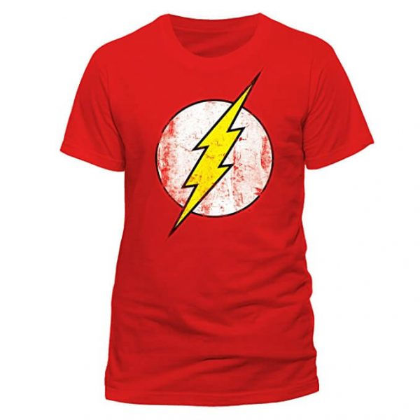 Classic The Flash T-Shirt Red