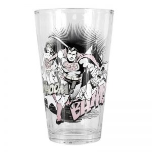 DC Comics Colour Changing Glass