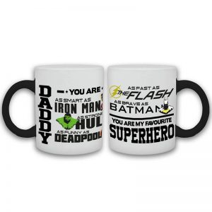 Daddy Superhero Cup