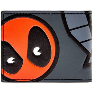 Deadpool Cartoon Wallet Back