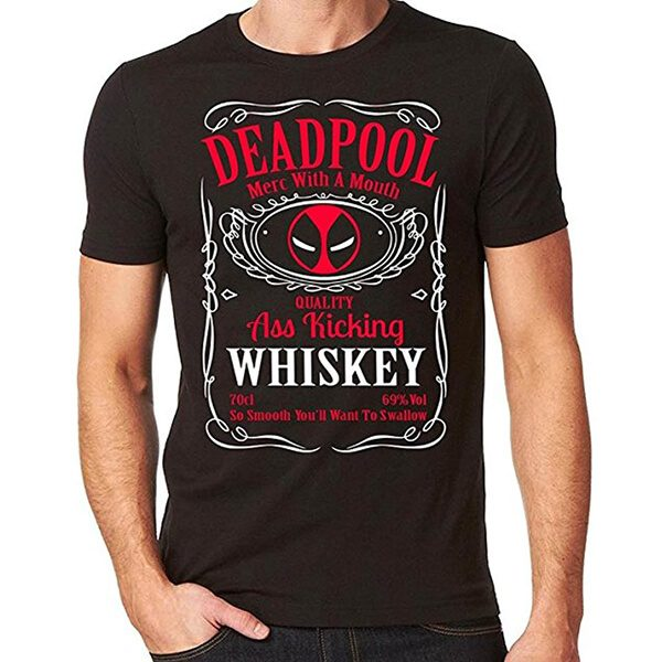 Deadpool Whiskey T-Shirt