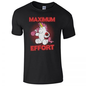Deadpool Maximum Effort Unicorn T-Shirt