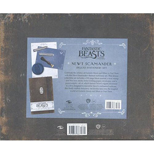 Fantastic Beasts Newt Scamander Deluxe Stationery Set2