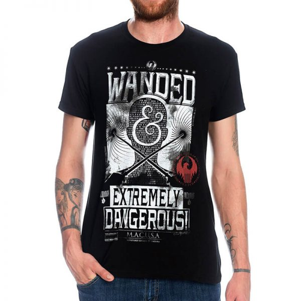Fantastic Beast MACUSA Wanded Extremely Dangerous T-Shirt