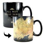 Game of Thrones Heat Changing Map Mug