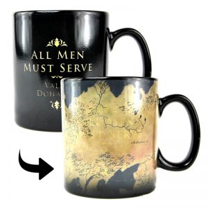 Game of Thrones Heat Changing Map Mug