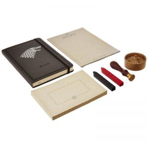 Game of Thrones House Stark Deluxe Stationery Set 4