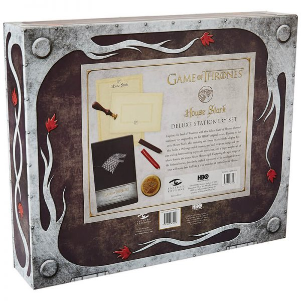 Game of Thrones House Stark Deluxe Stationery Set 1