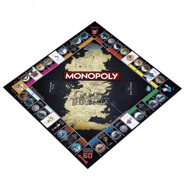 Game of Thrones Monopoly Board Game2