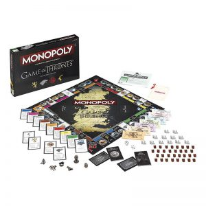Game of Thrones Monopoly Board Game3