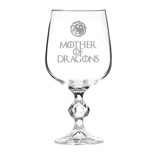 Game of Thrones Mother of Dragons Wine Glass