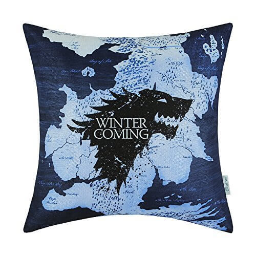 Game of Thrones Winter is Coming Pillow Case
