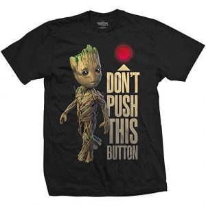 Groot Don't Push This Button T-Shirt