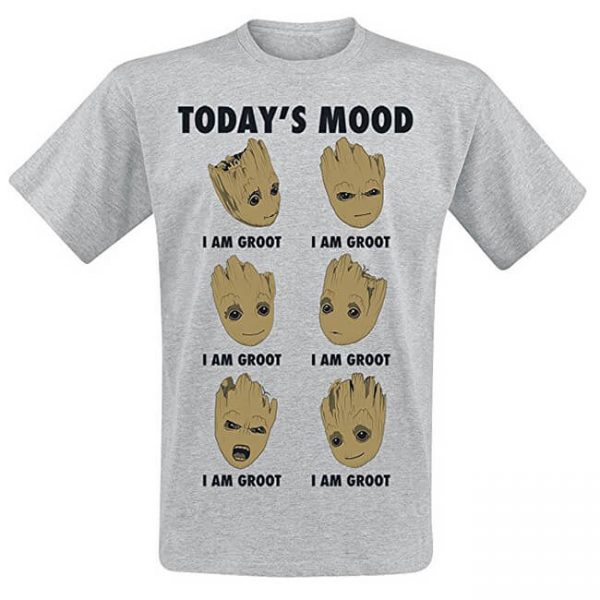 Guardians of the Galaxy I am Groot Today's Mood T-Shirt
