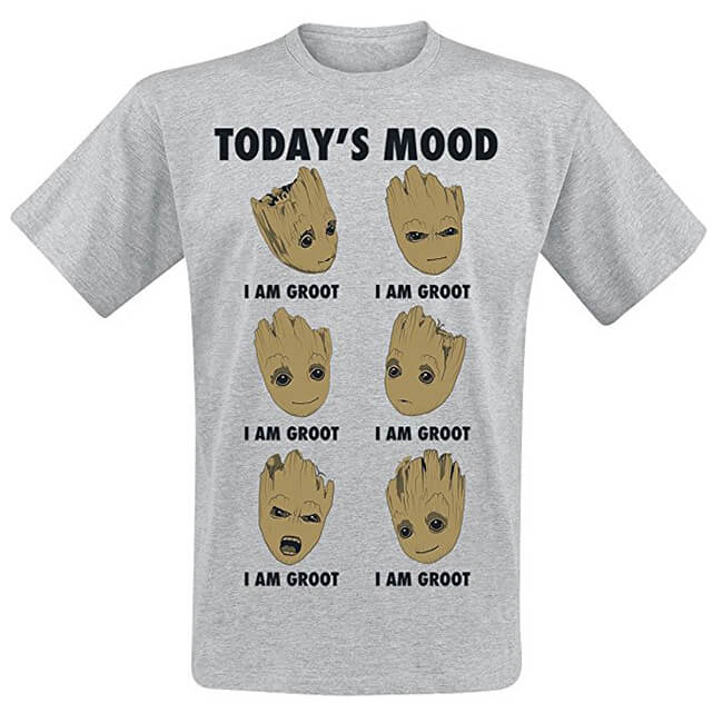 Guardians of the Galaxy I am Groot Today s Mood T-Shirt  16acad352