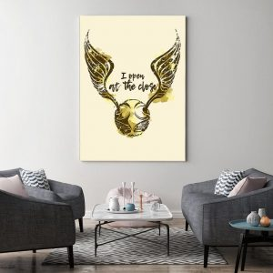 Harry Potter Golden Snitch Canvas