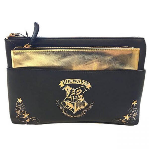 Harry Potter Hogwarts Cosmetic Toiletry Bag