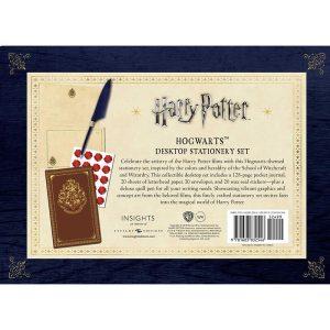 Harry Potter Hogwarts Desktop Stationery Set Back