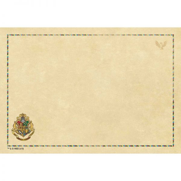 Harry Potter Hogwarts Desktop Stationery Set Paper 2