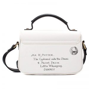 Harry Potter Letters Mini Satchel Bag Back