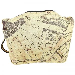 Harry Potter Marauders Map Shoulder Bag Back