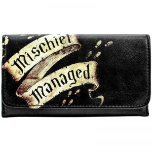 Harry Potter Marauders Map Tri-Fold Purse