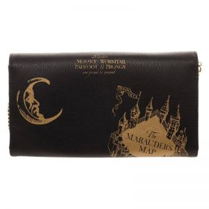 Harry Potter Mischief Managed Clutch Bag2