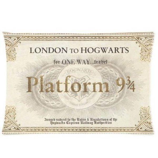 Harry Potter Platform Ticket Pillow Case