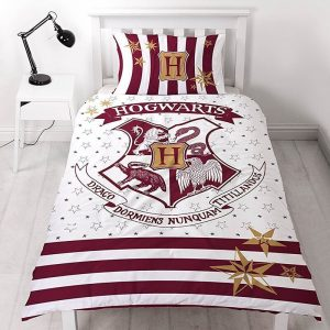 Harry Potter Reversible Hogwarts Single Duvet Set