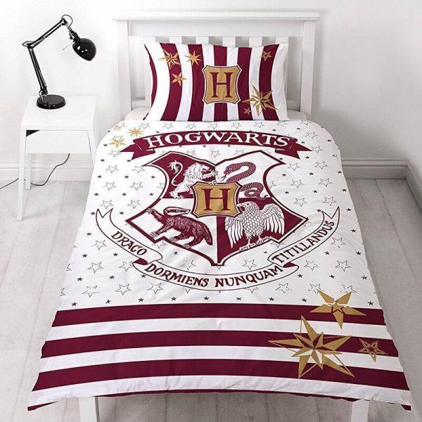 Harry Potter Reversible Hogwarts Single Duvet Set