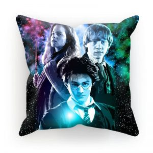 Harry Potter Ron, Hermione & Harry Pillow