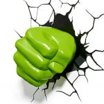 Hulk's Fist 3D Light3
