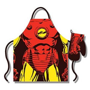Iron Man Apron and Gloves Set